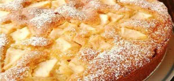 gateau au mascarpone et aux pommes