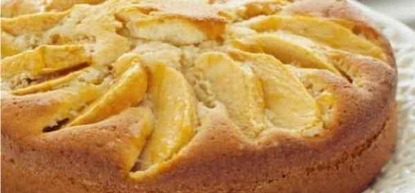 gâteau aux pommes minute
