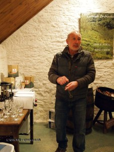 Andy Atkinson at Cornish Orchard Cider in Cornwall