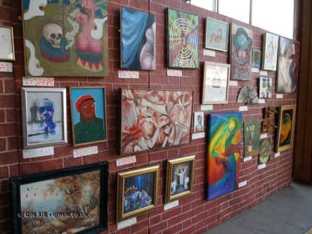 Art Gallery at Vintage Festival, Southbank