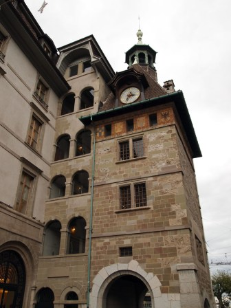Clock tower, Geneva