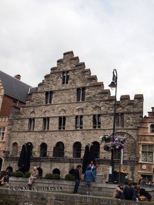 Corn market, Ghent, Belgium