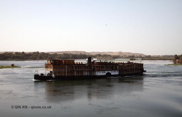Cruise boat, Cruise on the Nile