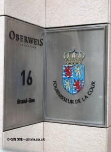 Fournisseur de la cour, Luxembourg