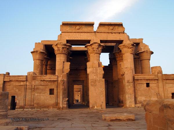 Gate, Ptolemic Temple, Kom Ombo