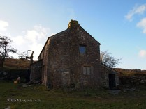 Lone country house in Cornwall