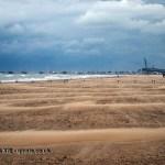 Moving sand to pier, Pescara, Abruzzo