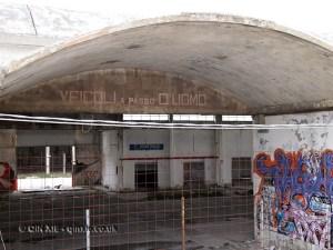 Old disused market, Pescara, Abruzzo