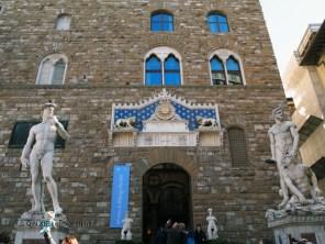 Palazzo Vecchio entrance, Florence, Italy