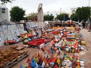 Pottery market, Tunisia