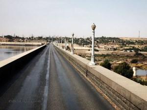 Road over High Dam at Aswan