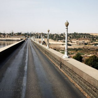 Road over High Dam at Aswan