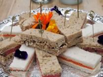 Sandwiches at Balfour Castle