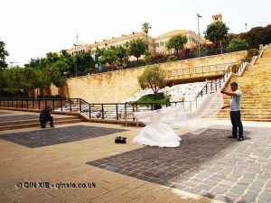 Wedding shoot, Beirut, Lebanon