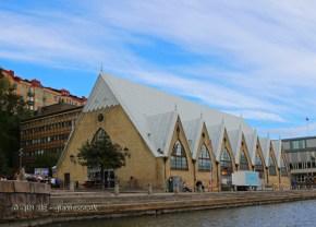 Fish church in Gothenburg, West Sweden