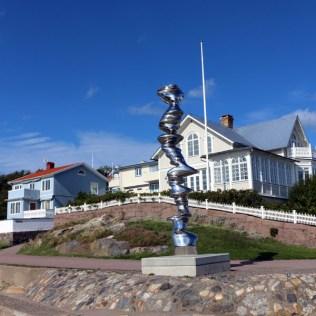 Sculpture on Marstrand in Bohuslan, West Sweden