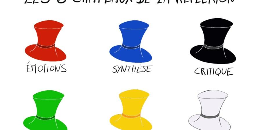 Les 6 chapeaux de la réflexion pour un débat