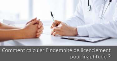 comment-calculer-indemnite-licenciement-pour-inaptitude