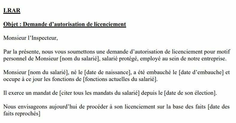 modele-lettre-inspection-travail-licenciement-membre-cse