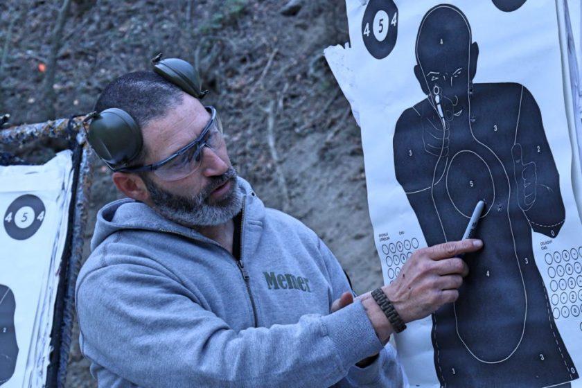 instructeur de tir des forces spéciales