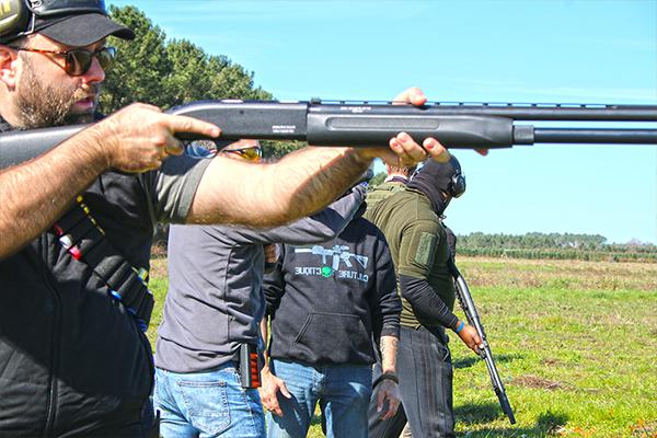 stage de tir calibre 12 FAP fusil a pompe