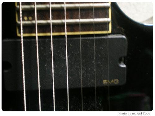 20090309-6 Ibanez(アイバニーズ)の7弦ギターを弾いてもらいました(動画)