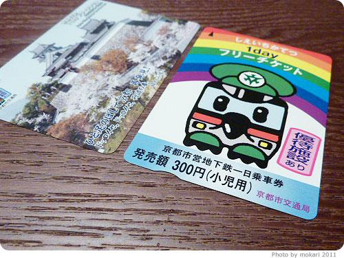 20110506-26 京都市営地下鉄1Dayチケットで京都のお出かけ