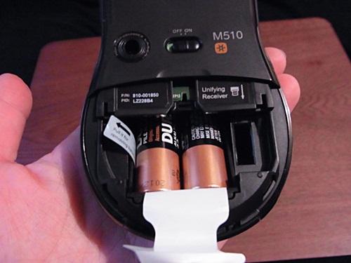 R1159088 ロジクールのワイヤレスマウスM510を買ってみた