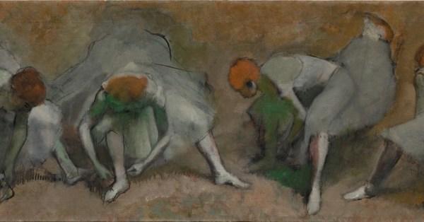 Edgar Degas, Frieze of Dancers, c.1895
