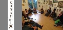 Studierende und Lehrbeauftragte Meike Su zu Gast bei Kunstmix