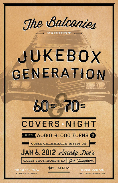 Jukebox Generation The Balconies