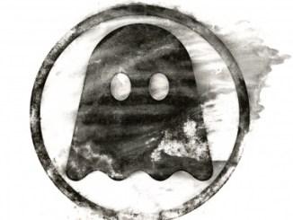 Ghostly International distressed logo