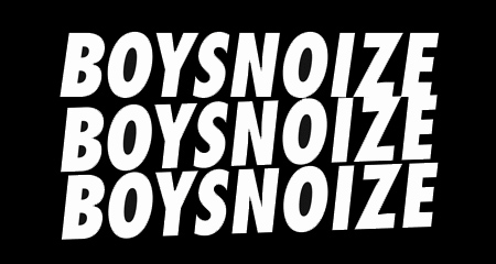 boys noize logos repeated