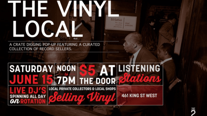 The Vinyl Local poster