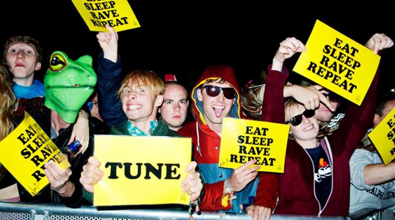 Fatboy Slim eat sleep rave repeat