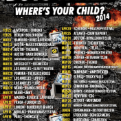 boys noize tour poster where's your child?