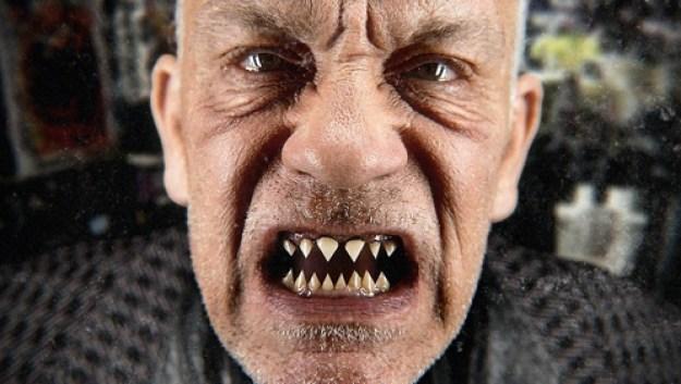 John Malkovich teeth