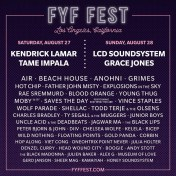 FYF Fest 2016 poster