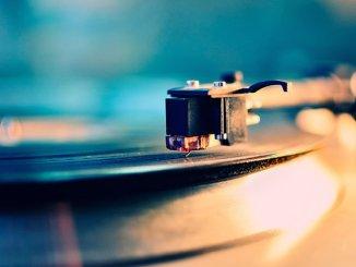 turntable vinyl close-up