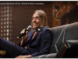 Iggy Pop Red Bull Music Academy