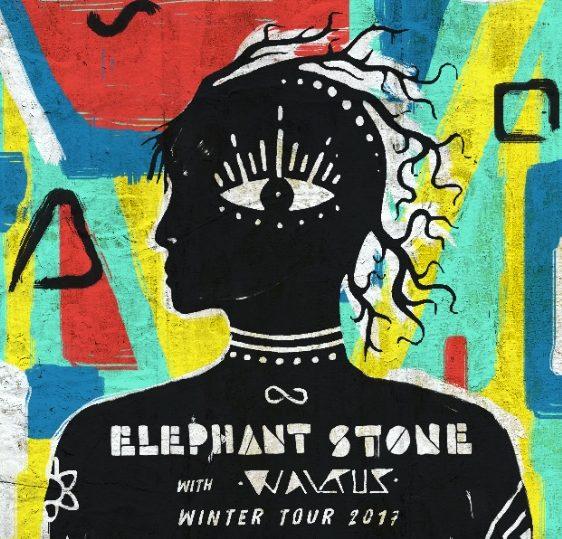 Elephant Stone tour flyer