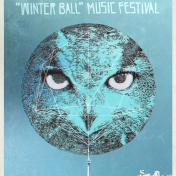 Wolfe Island Music Festival Winter Ball poster