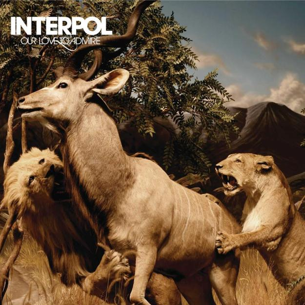 Interpol Our Love To Admire cover art