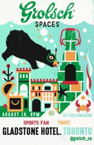 Grolsch Spaces x The Gladstone Hotel @ The Gladstone Hotel
