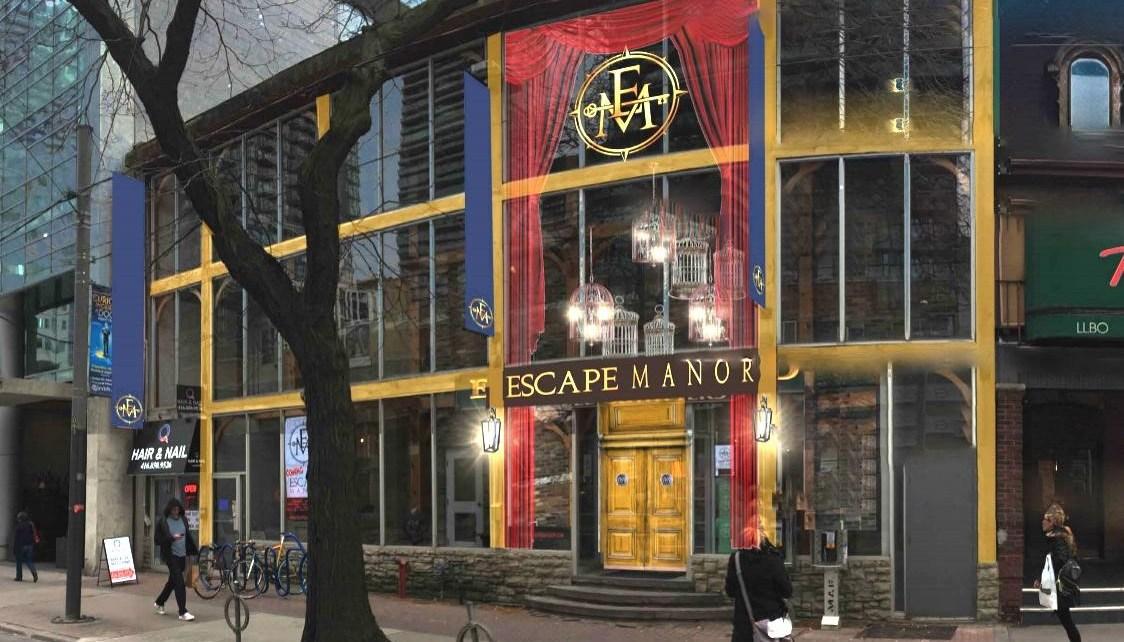 Escape Manor storefront