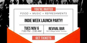 Indie Week Launch Party @ Revival Bar