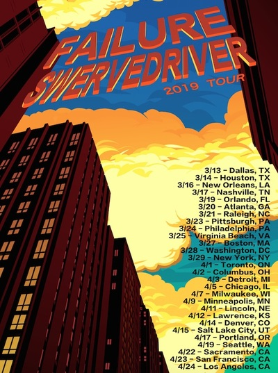 Swervedriver Failure poster