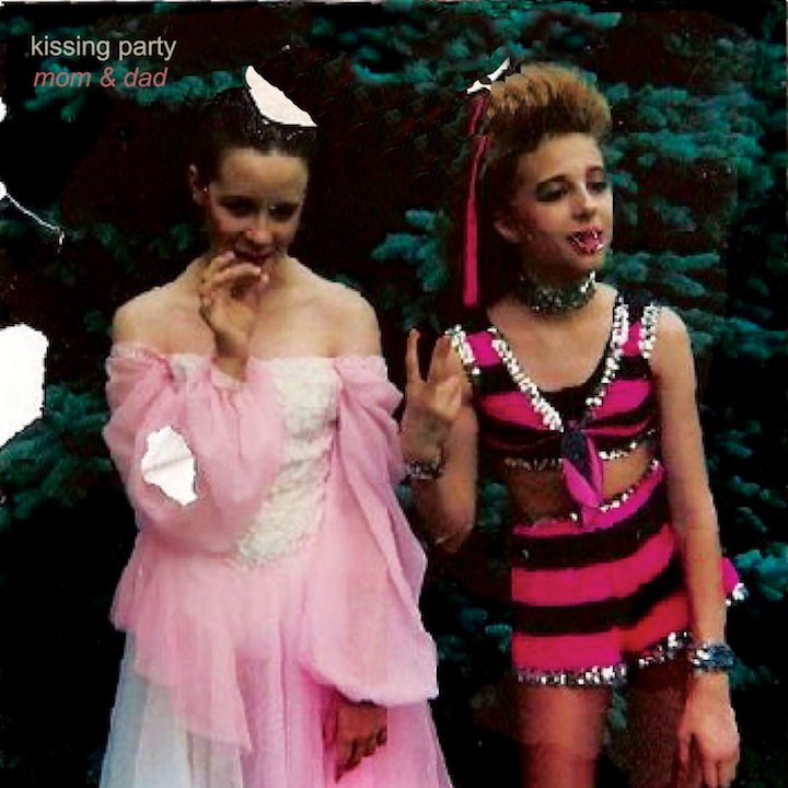Kissing Party Mom & Dad cover artwork