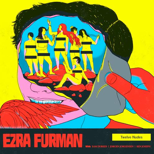 Ezra Furman Twelve Nudes cover artwork