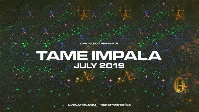 Tame Impala July tour image